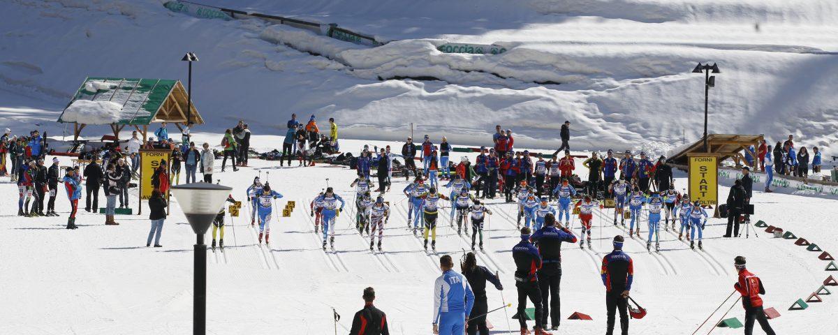 Centro Biathlon Forni Avoltri, 31 gennaio 2016. Photo Luciano Solero / Foto Solero